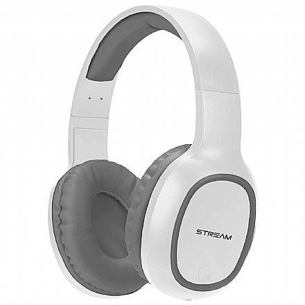 Fone de Ouvido Bluetooth ELG - com Microfone - Entrada para Micro SD - Branco - EPB-MS1SL