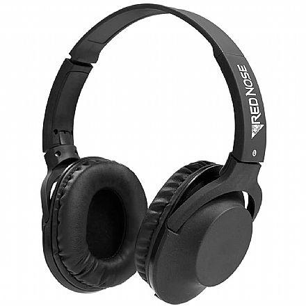 Fone de Ouvido ELG Rednose - Dobrável - com Microfone - Cabo Removível - Conector P2 - RNHPBK