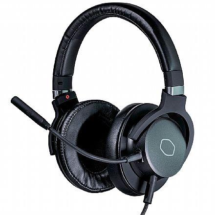 Headset Gamer Cooler Master MH-752 - Surround 7.1 - com Microfone Destacável - Conector USB e P2 para PC e Consoles