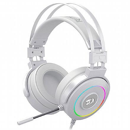 Headset Gamer Redragon Lamia 2 H320W-RGB - Surround 7.1 - com Microfone - RGB Chroma - com Suporte - USB