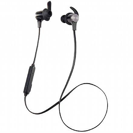 Fone de Ouvido Bluetooth Multilaser Pulse Super Bass - Magnético - com Microfone - Metálico - PH260