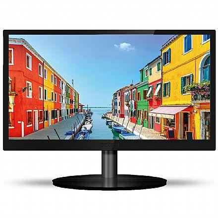 "Monitor 22"" PCTop MLP220HDMI - 1680 x 1050 - Suporte VESA - 1.5ms - HDMI/VGA"