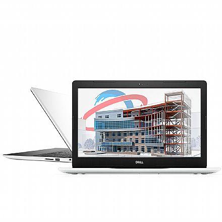 "Notebook Dell Inspiron i15-3583-M3XB - Tela 15.6"", Intel i5 8265U, 16GB, SSD 480GB, Windows 10 - Branco"