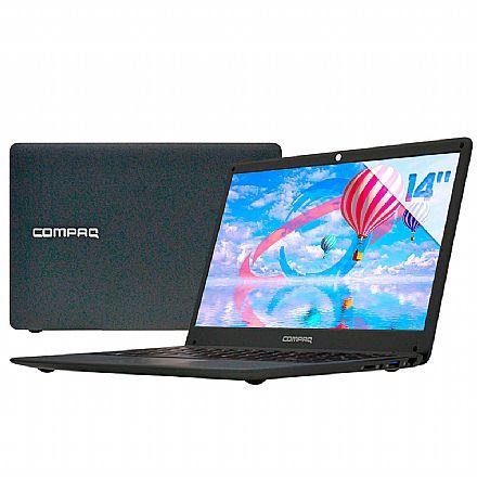 "Notebook HP Compaq Presario CQ-27 - Tela 14"", Intel® i3, RAM 4GB, SSD 120GB, Windows 10"