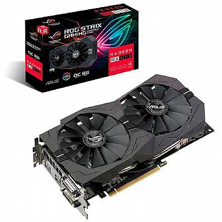 AMD Radeon RX 570 8GB GDDR5 256Bits - Asus - ROG-STRIX-RX570-O8G-GAMING