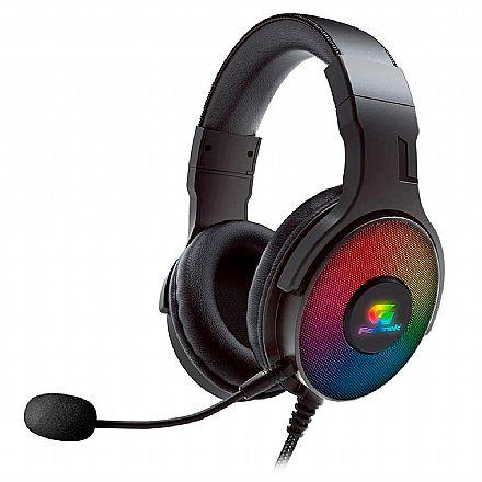 Headset Gamer Fortrek G Cruiser - Surround 7.1 - LED RGB - com Microfone - USB - 70531