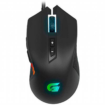 Mouse Gamer Fortrek Vickers - 4200dpi - LED RGB - 7 Botões - 70527
