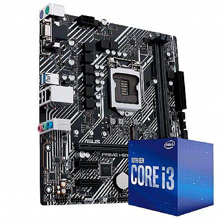 Kit Upgrade Intel® Core™ i3 10100 + Asus Prime H410M-E