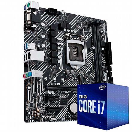 Kit Upgrade Intel® Core™ 7 10700F + Asus Prime H410M-E