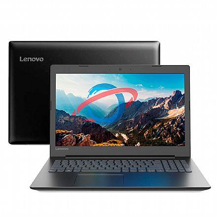 "Notebook Lenovo Ideapad B330 - Tela 15.6"", Intel i3 7020U, 4GB, HD 1TB, Linux - Preto - 81G7000GBR"