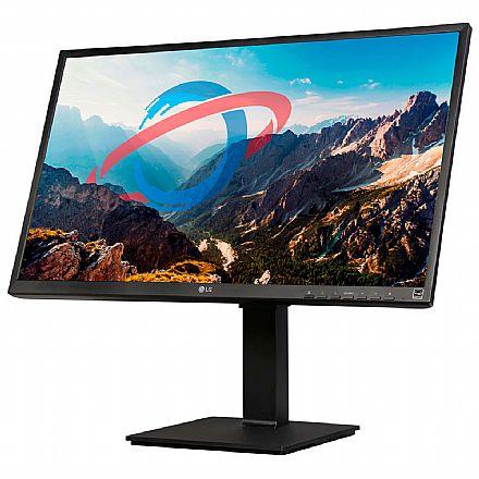 """Monitor 23.8"""" LG 24BL550J-B - Full HD IPS - 5ms - Regulagem de Altura e Rotação - Suporte Vesa - HDMI/DisplayPort/VGA"""