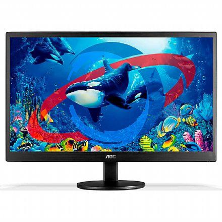 """Monitor 18.5"""" AOC E970SWHNL - 60Hz - 5ms - VGA/HDMI"""