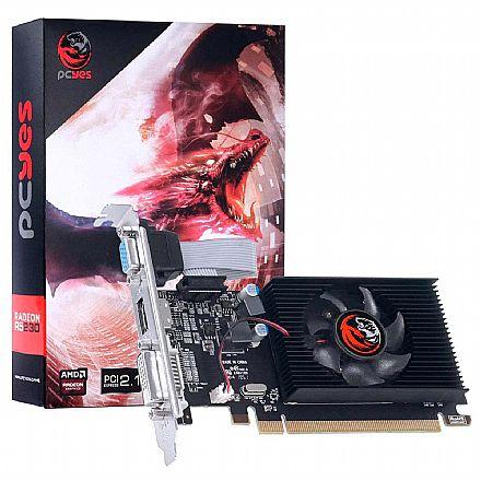 AMD Radeon R5 230 2GB GDDR3 64bits - Low Profile - PCYes PA230R502D3LW