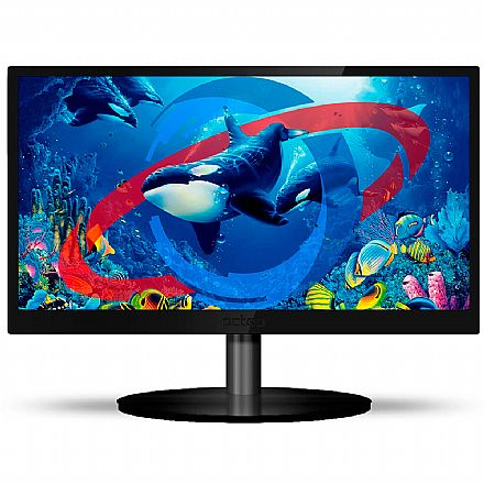 "Monitor 23"" PCTop MLP230HDMI - Full HD - VGA/HDMI - Suporte Vesa"