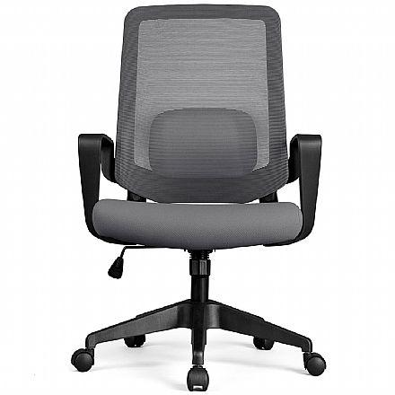 Cadeira de Escritório DT3 Office Verana V2 - Cinza - 12072-2