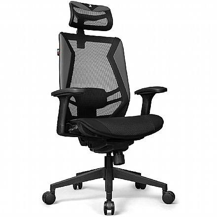 Cadeira de Escritório DT3 Sports Spider - Preta - 12056-4