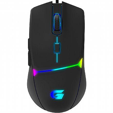 Mouse Gamer Fortrek Crusader - 7200dpi - 6 Botões - LED RGB - USB - 70526