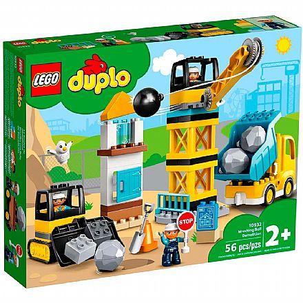 LEGO Duplo - Demolição com Bola Destruidora - 10932