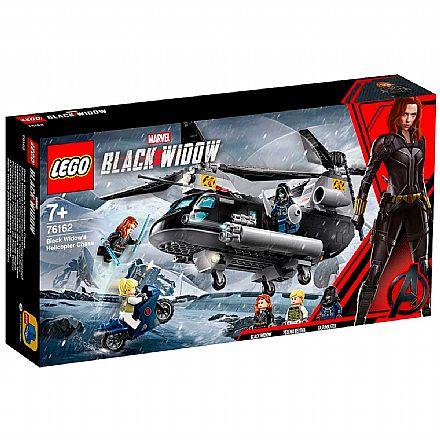LEGO Super Heroes Marvel - Perseguição de Helicóptero da Viúva Negra - 76162