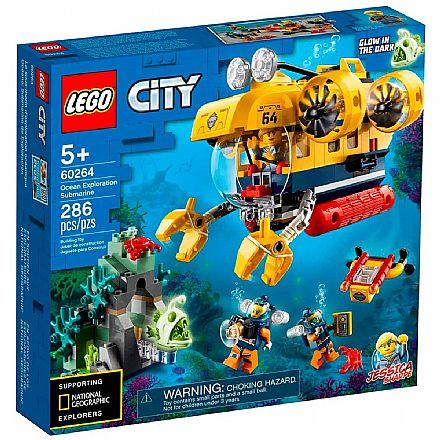 LEGO City - Submarino de Exploração do Oceano - 60264