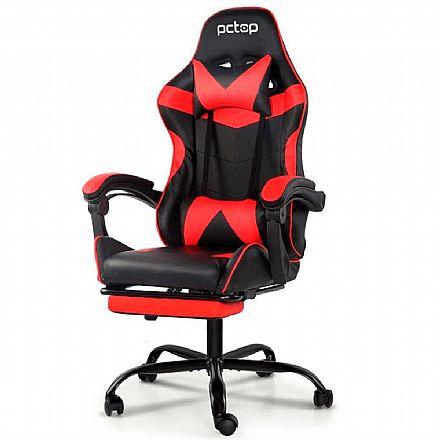 Cadeira Gamer PCTop PGR-002 - Vermelha - PGR-002-0077281-01