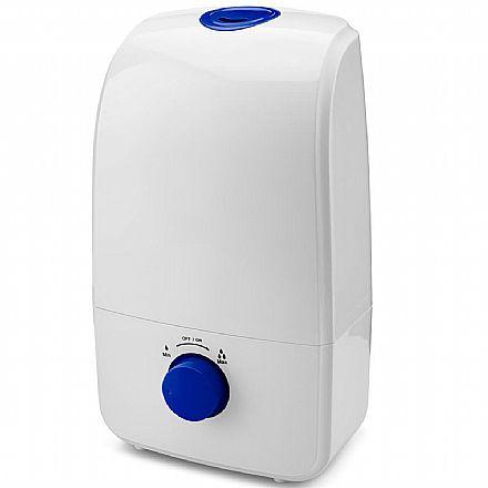 Umidificador e Aromatizador de Ar Multikids Baby - Capacidade de 3 Litros - Autonomia de até 10 Horas - Branco - Multilaser HC027