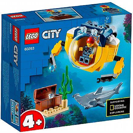 LEGO City - Mini Submarino Oceânico - 60263