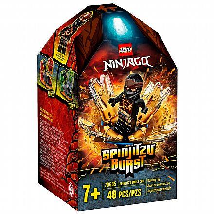 LEGO Ninjago - Rajada de Spinjitzu - Cole - 70685
