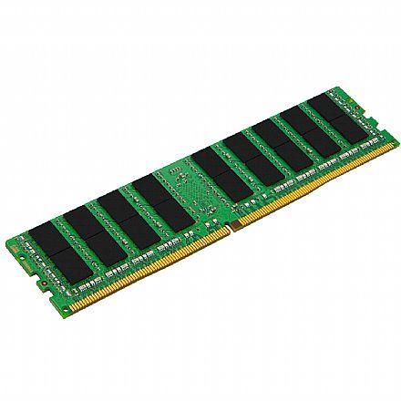 Memória 32GB DDR4 2400MHz Kingston ECC para Servidor - (RDIMM) Registered - 1.2V - CL17 - 2RX4 Micron - KSM24RD4-32MEI