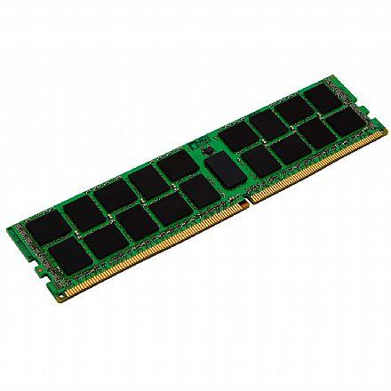 Memória 16GB DDR4 2400MHz Kingston ECC para Servidor - (RDIMM) Registered - 1.2V - CL17 - 2RX8 Micron - KSM24RD8-16MEI