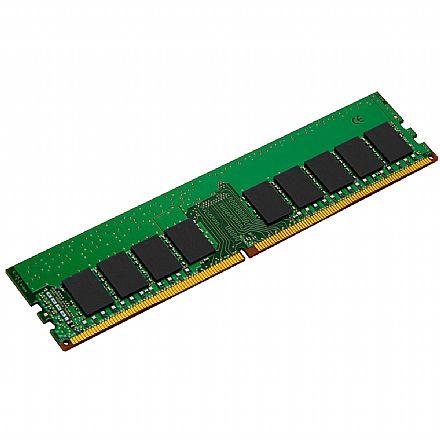 Memória 16GB DDR4 2400MHz Kingston ECC para Servidor - 1.2V - CL17 - 2RX8 Micron - KSM24ED8-16ME