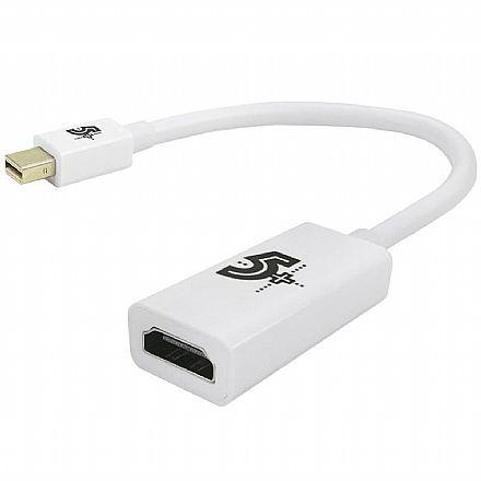 Conversor Mini DisplayPort para HDMI - 15cm - Chip SCE 075-0824