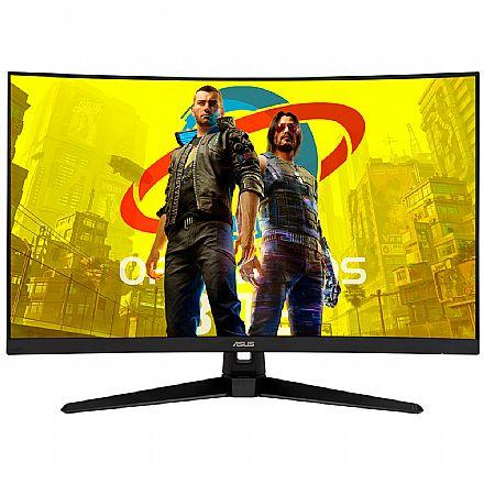 "Monitor Gamer 31.5"" Asus TUF Curvo VG32VQ1B - WQHD 2560x1440 - FreeSync - 165Hz - 1ms - HDR10 - HDMI/DisplayPort"
