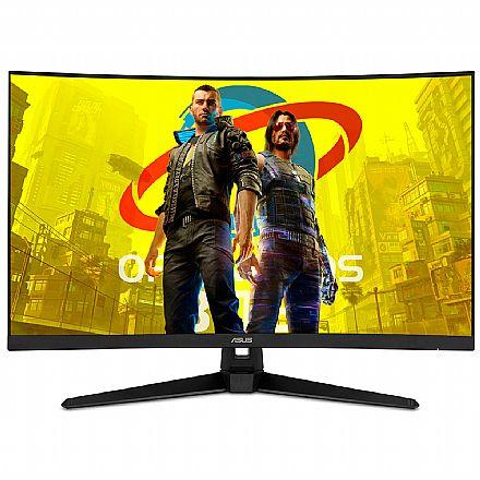 "Monitor Gamer 31.5"" Asus TUF Curvo VG328H1B - Full HD - FreeSync - 165Hz - 1ms - HDMI/DisplayPort"