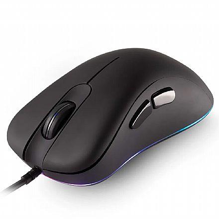 Mouse Gamer Dazz FPS Series - 12000dpi - Iluminação RGB - 2 Botões Programáveis - 625256