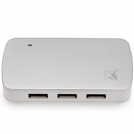 HUB USB 3.0 - 5 Portas - 4 USB, 1 Micro USB - Maxprint 6013595