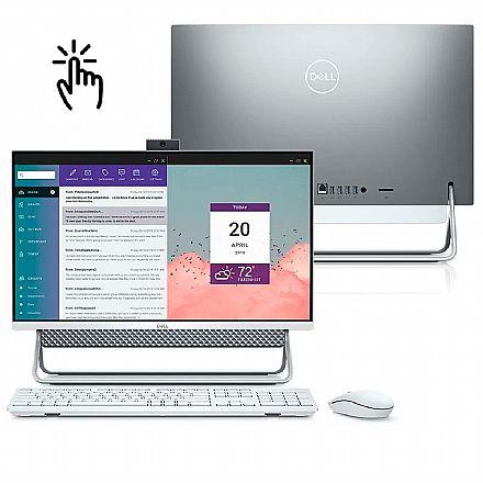 """Computador All in One Dell Inspiron 24 5490-MS10S - Tela 24"""" Full HD Touch, Intel Core i5 10210U, 12GB, SSD 256GB, Windows 10, Teclado e Mouse"""