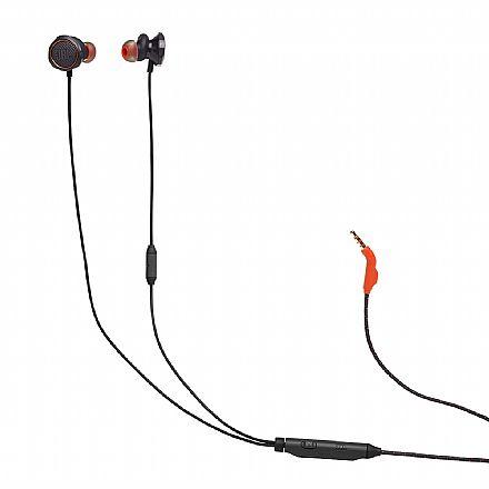 Fone de Ouvido Gamer Intra-Auricular JBL Quantum 50 - com microfone - JBLQUANTUM50BLK