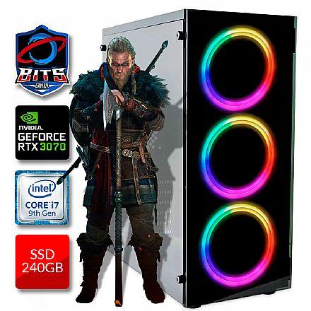 PC Gamer Bits 2021 - Intel i7 9700KF, 16GB, SSD 240GB, Video GeForce RTX 3070 - Powered by Asus