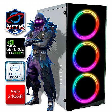 PC Gamer Bits 2021 - Intel i7 9700KF, 16GB, SSD 240GB, Video GeForce RTX 3060Ti - Powered by Asus