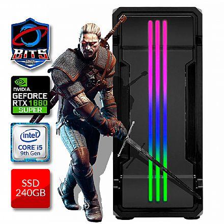 PC Gamer Bits 2021 - Intel i5 9400F, 8GB, SSD 240GB, Video GeForce GTX 1660 Super - Powered by Asus
