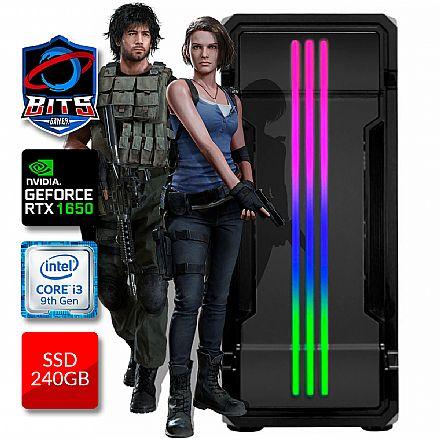 PC Gamer Bits 2021 - Intel i3 9100F, 8GB, SSD 240GB, Video GeForce GTX 1650 - Powered by Asus
