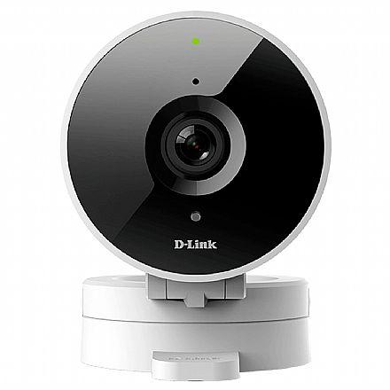 Câmera de Segurança IP D-Link DCS-8010LH - Wi-Fi - HD - Visão ampla 120º