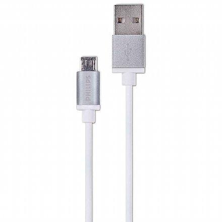 Cabo Micro USB para USB - 1.2 metro - Philips DLC2518M/97