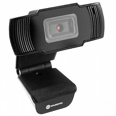Web Câmera Goldentec GT 720P - Vídeochamadas em HD 720p - com Microfone