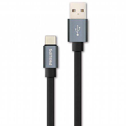 Cabo USB-C para USB - 1.2 metro - Philips DLC2528F/97