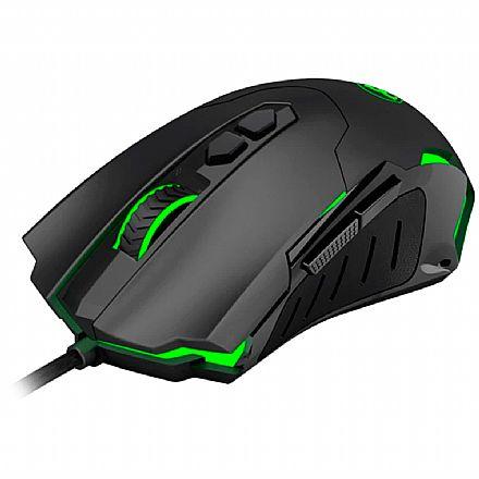 Mouse Gamer Brigadier T-Dagger - 7200dpi - RGB - 7 Botões Programáveis - T-TGM206