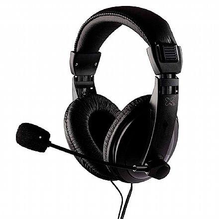 Headset Maxprint - Microfone - Drivers 40mm - Conector P2 - 6011444
