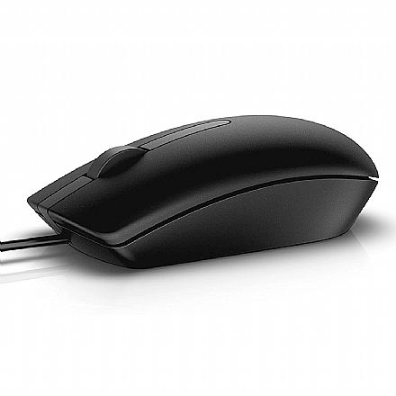 Mouse USB Dell MS116-BK - 1000dpi