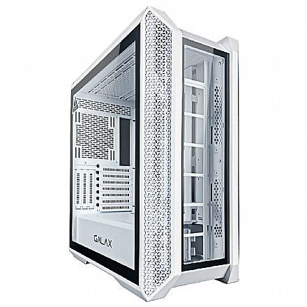 Gabinete Gamer Galax Andromeda GX900WH - Lateral em Vidro Temperado - USB 3.0 - Branco